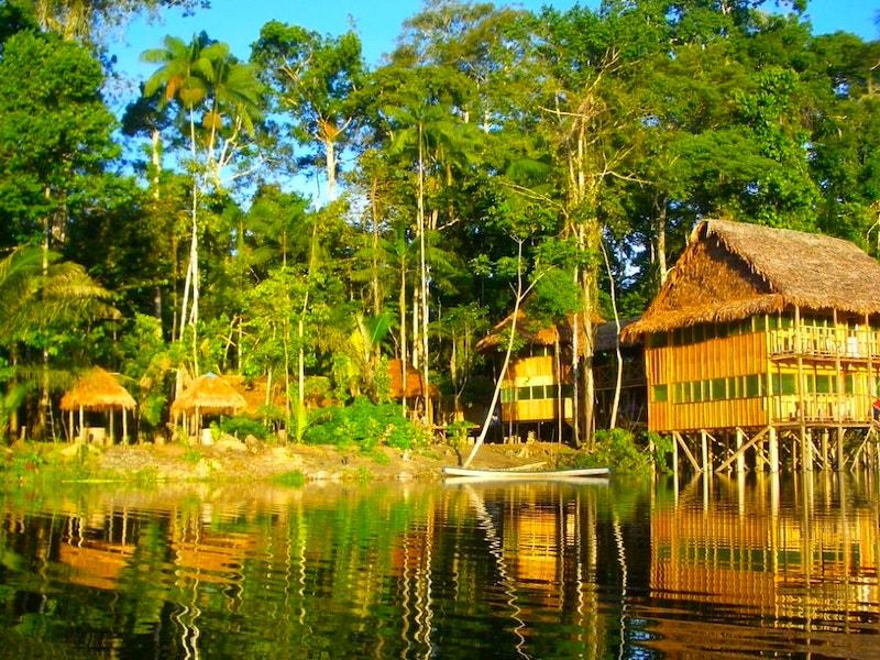 Kolumbien Amazonas Dschungel Lodge
