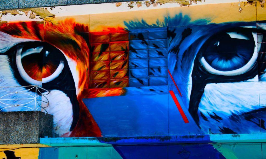 Kolumbien Pazifik Grafity