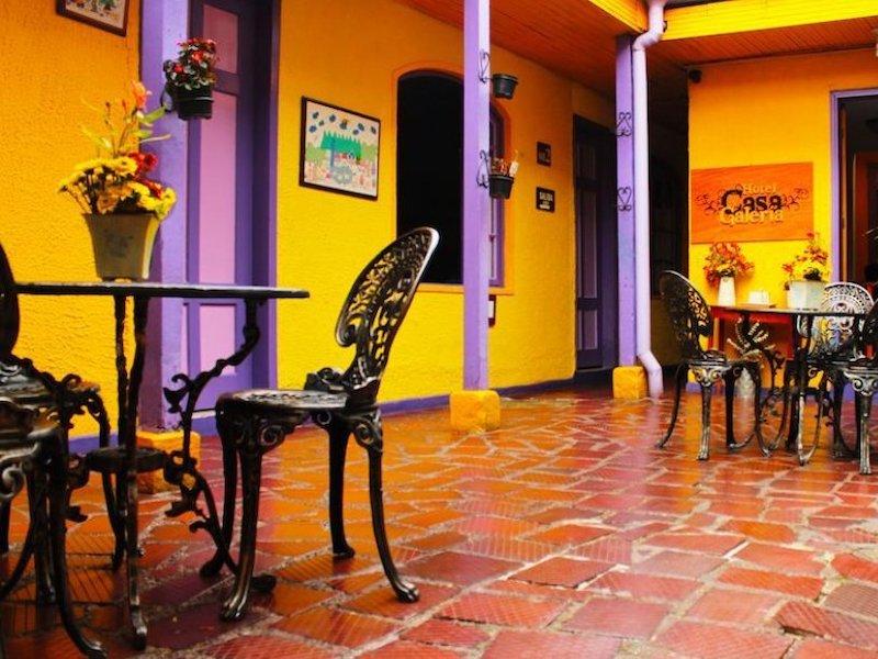Kolumbien Hotel Casa Galeria