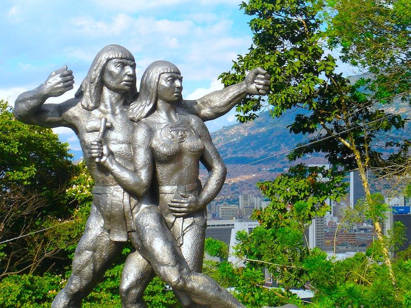 Kolumbien Anden Medellin