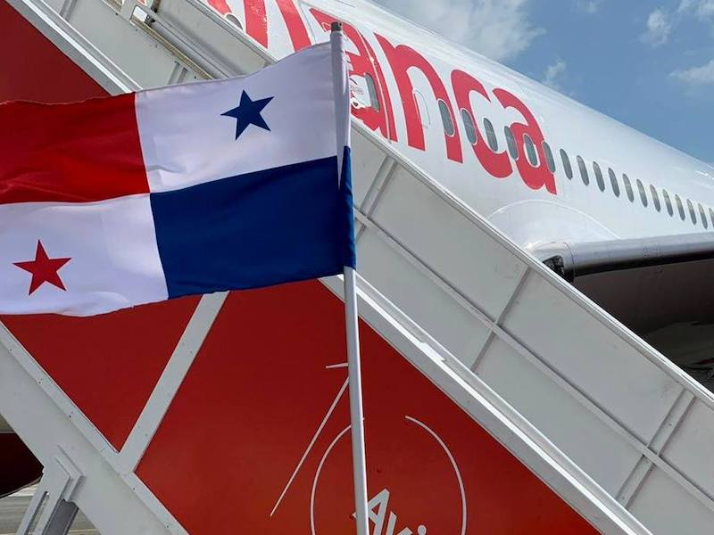 Avianca Flug nach Kolumbien